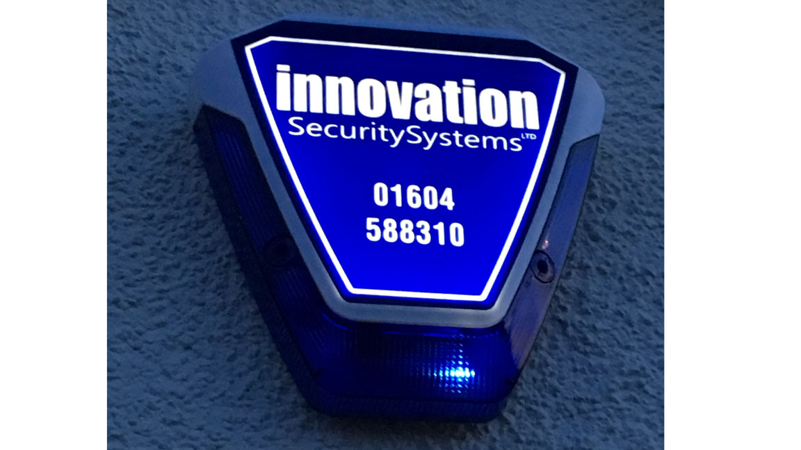 Intruder Alarms, Installed and Serviced by Innovation Secutiry Ltd, Northampton